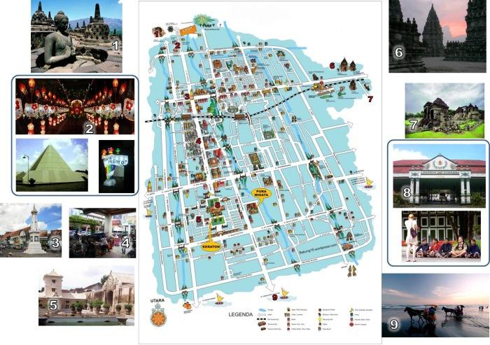 The Yogyakarta Tourism Mapping